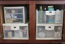 Organized Bathrooms / by Laura (Organizing Junkie)