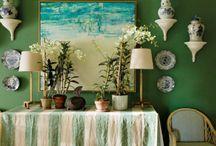 DO&CO Green / The colour green, home decor, paint, interior