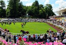 Sandown Park Racecourse / Sandown Park is a horse racing course and leisure venue in Esher, Surrey, England, located in the outer suburbs of London. It hosts one Group 1 flat race, the Eclipse Stakes. It regularly has horse racing during afternoons
