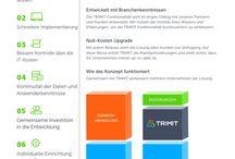 German Litterature about TRIMIT / German Litterature about TRIMIT. ERP Softwarelösungen für: - Konfiguration - Möbel - Fashion