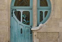Entrees portiques