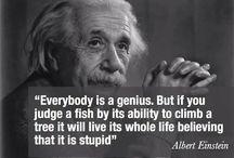 Albert Einstein Quotes / Quotes