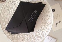 Origami Special // Invitation / Inviti origami realizzati per eventi e occasioni speciali.