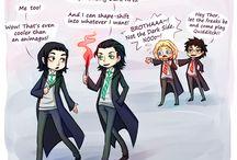 Hogwarts / Harry Potter verse