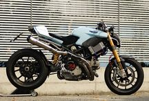 moto et voiture