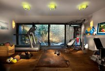 Fitness area at home