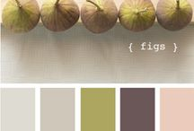 Moodboards and palettes