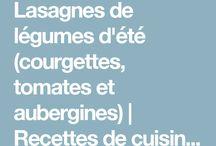 Lasagne au légumes
