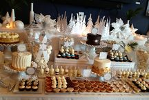 Dessert bars / Beautiful inspiration for dessert bars for your next event