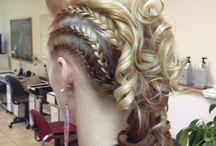 braided hairFaux Mohawk