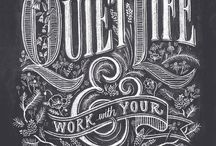 Quotations&Typography / by Tina Kampson