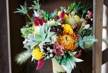 Bouquets with texture