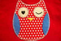 Applique - Owls !