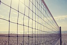 Volley and beach