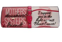 Breast Cancer Clutches-For Supporters / Did your mother, sister, aunt or friend beat breast cancer? If so show your support with the Purse Paparazzi's custom clutch for supporters of Breast Cancer Survivors and those who are still fighting! 10% of all proceeds will be donated to the Susan G. Komen Foundation of MD!