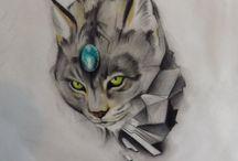 lynx tattoo