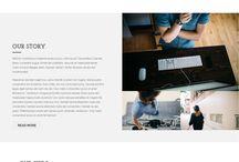 web design ●