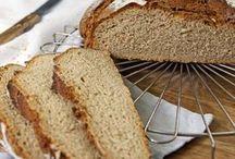 Brote und  Baguette