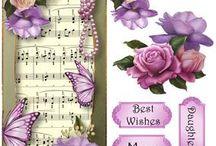 3D blomster og musik