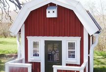 Kids garden house