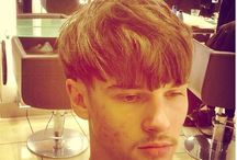 hair men texture