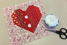 •♥✿♥• Quilting ~ Hearts •♥✿♥•