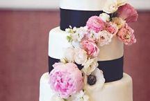 Kleuren bruiloft / Blush, voorjaarsbloemen, zacht/ fuchsia  roze, kobalt blauw