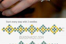 beaded pattern