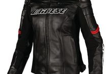 Lady's Motorcycle Fashion