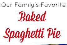 spaghetti la cuptor