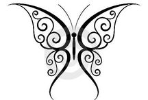 rajzok, sablonok, pillangók