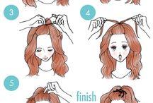 Tutoriais de cabelo