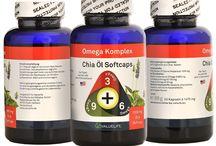 Chia Samen / Chia ist das Superfood schlechthin. Bei uns erhältlich in Kapselform zum bequemen Einnehmen. Die Kapseln enthalten das wertvolle Öl der Chia Samen.