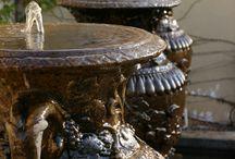 Home-Decor: Outdoors Fountains!