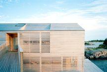 Rivestimento in legno esterno