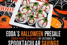 Halloween 2015 / Happy Halloween!  Don't miss our pre-sale. Call our stores or download the order form from our website: http://eddascakedesigns.com/halloween-pre-sale/