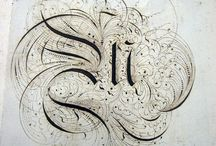 Calligraphy / by K Saloomey
