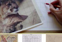 tekenmaterialen - drawingtools / materialen en gereedschappen die je kunt gebruiken om je tekeningen te verbeteren