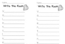 School - February Ideas