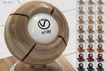 Vray, Vray materials, 3ds max materials
