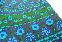modflowers: vintage fabric