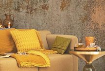 Dulux Colour of The Year 2016- CHERISHED GOLD / Gold and tons of gold are being used everywhere in the design world. It is a recurring colour and material at design fairs and in graphic design as well as in architecture, fashion, beauty and interior decorating.