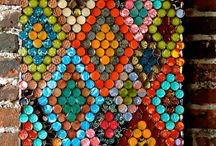 Искусство из крышек от бутылки
