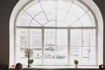 Let the light in / Beautiful windows and lots of natural light