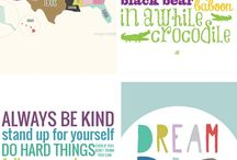 [Inspiration - Cute Printables] / cute printables