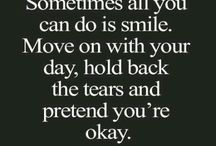 Pretend to be happy...