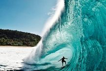 cuthing some wave