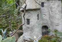 castle and fairy houses