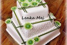 Bröllpostårta