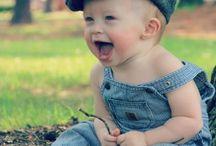 The babies / A los pequeños también les gusta la moda